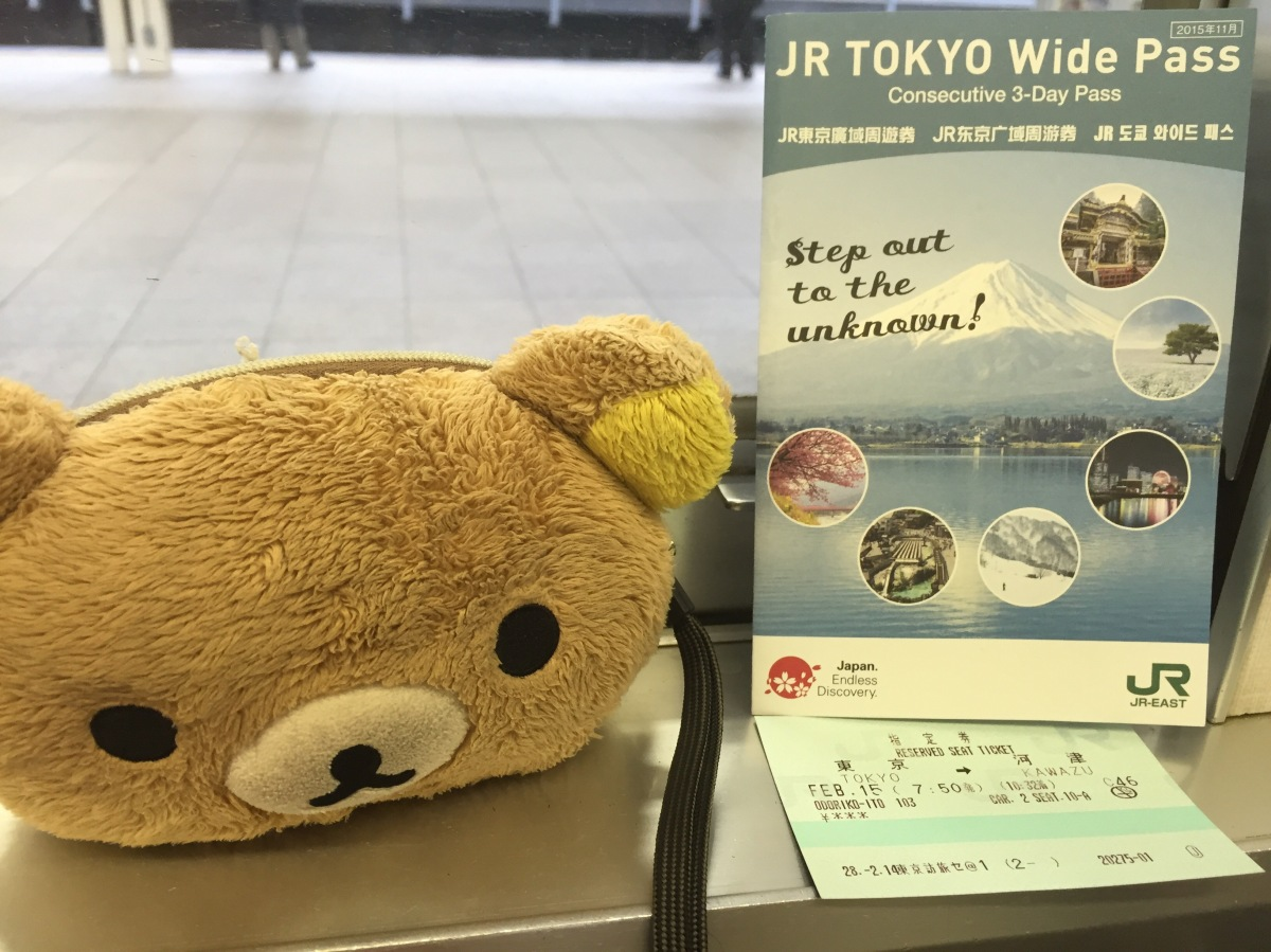 Pengalaman menggunakan JR Tokyo Wide Pass (JR Kanto AreaPass)