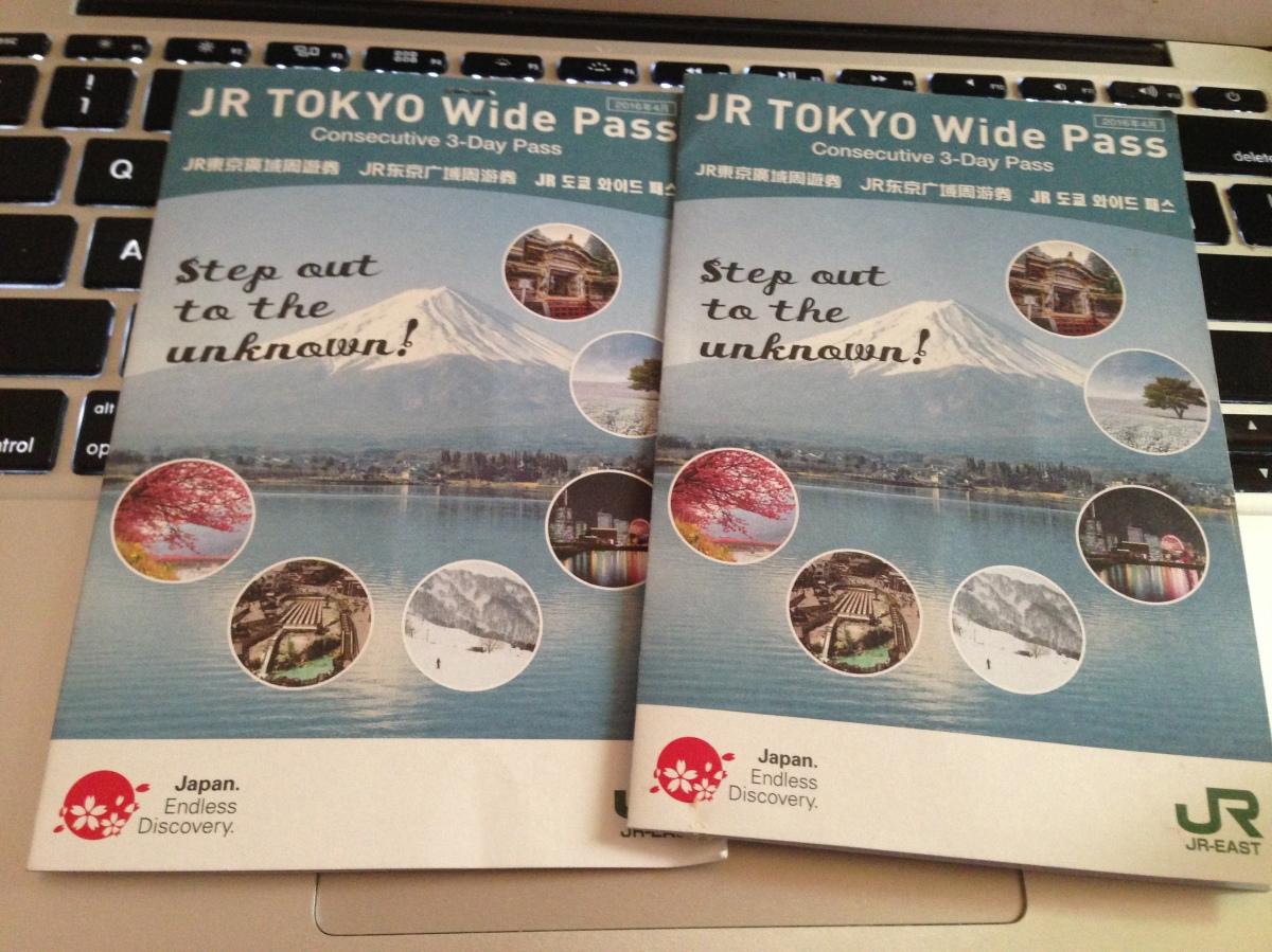 Pengalaman JR TOKYO WIDE Pass Winter2019
